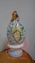 Яйцо-подсвечник