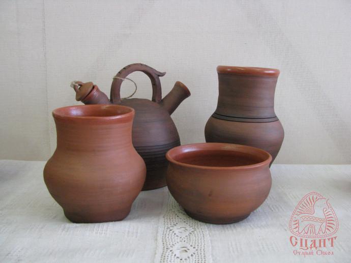 Набор гончарной посуды